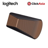 Review Logitech X300 Bluetooth Mobile Wireless Stereo Speaker Black Brown 984 000397 Logitech
