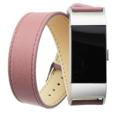 Price Long Leather Band Double Tour Bracelet Watchband For Fitbit Charge 2 Pk Intl Oem New