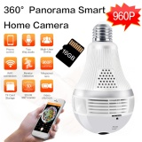Store Loosafe 960P Panorama Cctv Ip Camera 360° Wifi Wireless Night Vision Light Bulb Fisheye Panoramic Surveillance Security Cctv Camera With 16G Tf Card Intl Loosafe On China