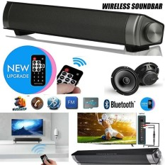 Review Lp 08 Upgraded Bluetooth Speaker Bluetooth 3 Wireless Soundbar Speaker Built In Subwoofer Supports Tf Card 3 5Mm Aux In For Smartphone Tablet Tv Mp3 With Remote Controller Oem On China