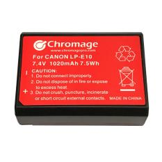 Best Rated Canon Lp E10 Rechargeable Lithium Ion Battery Chromage Brand With 1 Year Warranty