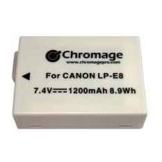 Canon Lp E8 Rechargeable Lithium Ion Battery Chromage Brand With 1 Year Warranty Deal