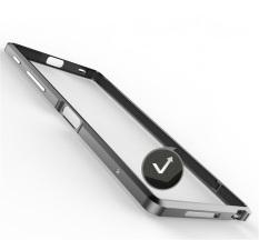 New Luphie Case For Sony Sony Z5 Premium Luxury Aluminum Bumper Frame In Black