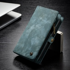 Luxurious 2 In 1 Multifunction Zipper Wallet Phone Cases Much Card Slots Genuine Leather Flip Cover Case For Apple Iphone 8 Plus 5 5 Inch Intl Discount Code