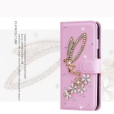 Luxurious Women Handmade Rhinestone Diamond Leather Wallet Cover Case For Apple Iphone 6 6S Intl Coupon Code