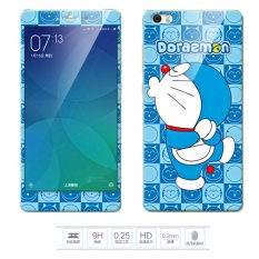 Discount Luxury 3D Painting Front Back Full Case Cover Color Tempered Glass Case For Xiaomi Mi Note 5 7 Inch Screen Protector Film Color 3 Intl Oem
