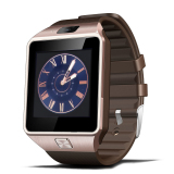 Best Offer Luxury Bluetooth Smart Watch Sport Watches Touch Screen For Android Mobile Phone Golden