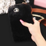 Sale Luxury Faux Rabbit Fur Phone Cases For Apple Iphone 7 Plus 8 Plus Shell Plush Furry Cover For Iphone 7 Plus 8 Plus Intl Online China