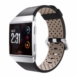 Price Comparisons Of Luxury Leather Wrist Band Bracelet Replacement Strap For Smart Watch Fitbit Ionic Intl