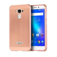 Review Luxury Metal Aluminum Bumper For Asus Zenfone 3 Max Zc553Kl 5 5 Case Detachable Brushed Pc Hard Back 2 In 1 Cover Ultra Thin Frame Rose Gold Intl China