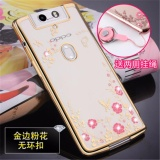 Sale Luxury Rhinestone Phone Case Cover Finger Rotated Ring Holder Stand Tpu For Oppo N3 N5207 N5209 5 5 Inch Case Multicolor 10 Intl Oem On China