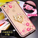 Luxury Rhinestone Phone Case Cover Holder Stand For Apple Iphone 6 Plus Iphone 6S Plus 5 5 Inch Case Protective Ultra Thin Silicone Soft Case Multicolor 1 Intl For Sale Online