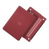 Buy Cheap Lyball Larubberized Hard Case Shell Matte Cover For Macbook Air 13 Inch Dark Red