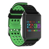 Sale Lynwo M7 Oled Color Screen Blood Oxygen Pressure Heart Rate Pedometer Smart Watch Green Intl Online China
