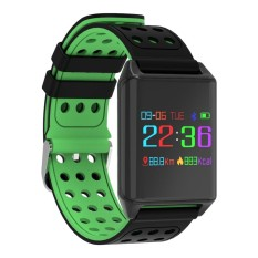 Price Lynwo M7 Oled Color Screen Blood Oxygen Pressure Heart Rate Pedometer Smart Watch Green Intl Not Specified Original