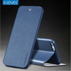 Buy M X Level Ultra Thin Flip Holder Leather Tpu Stand Case Cover For Iphone 7 Plus 8 Plus Full Protective Intl Oem