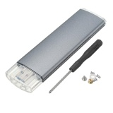 Buy M 2 Ngff Ssd Sata To Usb 3 Converter Adapter External Enclosure Storage Case Intl Not Specified