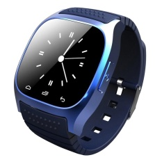 Recent M26 Bluetooth Wifi Smart Wrist Watch Phone For Ios Android Blue Intl