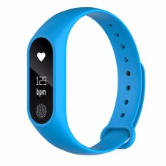 Buy Cheap M2Plus Smartband Heart Rate Monitor Smart Bracelet Wristband 86 Inch Led Screen Push Messages For Ios Android Phones Ip67 Waterproof Intl