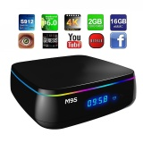 M9S Mix Tv Box Amlogic S912 Octa Core Android 6 2 4G 5G Dual Band Wifi Bluetooth 4 2G Ddr3 Ram 16G Emmc Rom Intl Sale