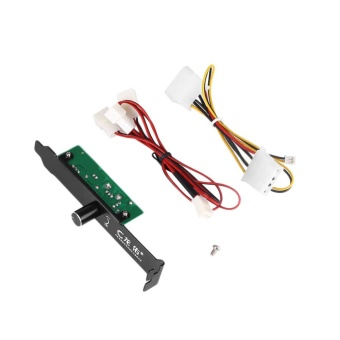 MagicWorldMall 3 Channels PC 3 Pin Cooling Fan Port Connector Controller For CPU Case HDD DDR