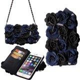 Purchase Magnetic Hybrid Flip Wallet Handbag Purse Bag Case Cover For Iphone 6 Plus 6S Plus Intl