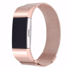 Compare Magnetic Wrist Strap And Link Bracelet For Fitbit Charge 2 Stainless Steel Band Adjustable Closure Intl Prices