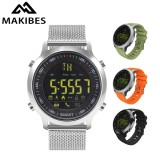 Sale Makibes Light Ex18 Smart Watch For Men Sport Watch 5Atm Waterproof Bluetooth 4 Smartwatch Pedometer Call Reminder Sportwatch For Ios Android Intl Oem Wholesaler