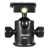 Manbily Kb Professional Tripod Head Camera Ball Head Panoramic Head Sliding Rail Head With 2 Built In Spirit Levels Aluminum Alloy Max Load Capacity 15Kg Export On Singapore