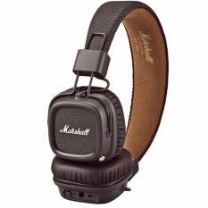 New Marshall Major 2 Bluetooth On Ear Headphone Brown
