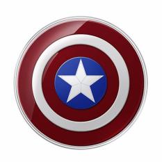 Buy Marvel Captain America Shield Wireless Charging Pad Qi Technology On Singapore