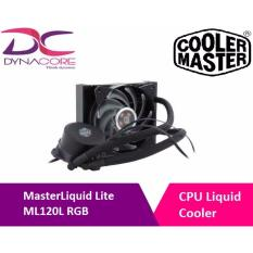 Masterliquid Lite Ml120L Rgb All In One Cpu Liquid Cooler With Dual Chamber Pump By Cooler Master Free Shipping