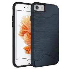 Buying Matte Armour Card Case Casing Cover For Iphone 8 Iphone 7 Navy Blue