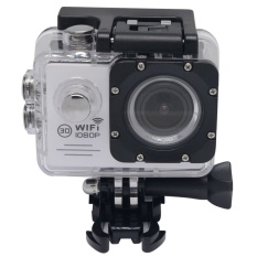 Cheapest Mcoplus 2 Inch 30M Waterproof Wifi Action Sports Camera Sj7000 1080P 170 Degree Wide Angle Lens Helmet Hd Sports Action Cam With Free Accessories Kit White Intl Online