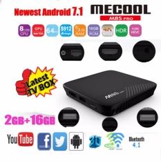 Retail Price Mecool M8S Pro Android 7 1 Smart Tv Box 2Gb Ddr4 16Gb Amlogic S912 64 Bit Octa Core Uhd 4K Bt 4 1 2 4G 5G Wifi Kodi Set Top Box Intl