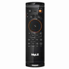 Cheapest Mele F10 Deluxe 2 4Ghz Fly Mouse W G Sensor Gyro Keyboard For Android Tv Box Mini Pc Black