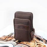 Lowest Price Canvas Wear Leather Belt Big Screen Bag Phone Running Bag