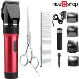 Best Mengyanni Professional Pet Grooming Clipper Kits Low Noise Rechargeable Cordless Pet Groomer Pet Fur Hair Remover Shaver For Small Medium And Large Cats Dogs And Other Pets Red Intl