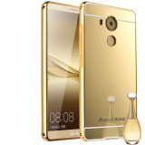 Review Metal Aluminum Frame Mirror Back Case For Huawei Mate 8 Gold On China