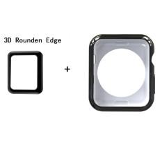 Meteqi For Apple Watch Case Screen Protectors Flexible Slim Tpu Iwatch Protective Scratch Resistant Bumper Cover Protector Case For Apple Watch Series 2 3 42Mm Intl Deal