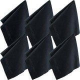 Microfiber Cleaning Cloth 12X12 Inch 6 Pack For Lens Eyeglasses Glasses Screen Ipad Iphone Tablet Cell Phone Lint Free Cleaner Cloths To Clean Camera Lenses Tablets Tv Screens Intl Best Buy