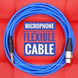 Sale Microphone Cable 5 Meter Xlr To 1 4 Mono Suitable For Home Use Blue Canare
