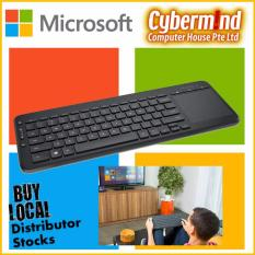 Microsoft All-In-One Media Keyboard Wireless Keyboard With Touchpad