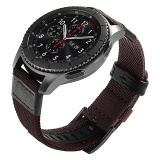 Buy Miimall 22 Mm Woven Nylon Replacement Strap Large Sport Wristband Bracelet With Stainless Steel Metal Buckle For Gear S3 Classic Gear S3 Frontier Smart Watch Moto 360 2Nd Gen 46Mm Intl Miimall Cheap