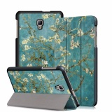 Discount Miimall Galaxy Tab A 8 2017 Case Ultra Lightweight Slim Smart Shell Cover Case With Auto Wake Sleep Feature For Galaxy Tab A 8 2017 Sm T385 Sm T380 Tablet Apricot Tree Intl Miimall