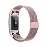 Get Cheap Milanese Loop Metal Magnetic Mesh Band Strap Bracelet For Fitbit Charge 2 Th644 Intl