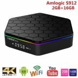 Cheaper Milu T95Z Plus Smart Android Tv Box Amlogic S912 Octa Core Ram2Gb 16Gb Tv Box Android 6 Wifi 5 8G H 265 4K Media Player Intl