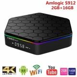 Milu T95Z Plus Smart Android Tv Box Amlogic S912 Octa Core Ram2Gb 16Gb Tv Box Android 6 Wifi 5 8G H 265 4K Media Player Intl Shopping