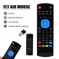 Mini 2.4G Wireless Fly Air Mouse Keyboard For Windows Android IMAC PC Singapore