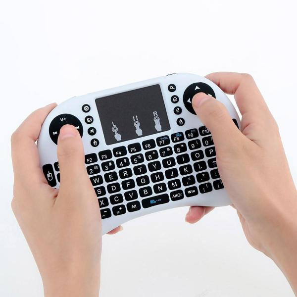 Mini 2.4G Wireless Touchpad Keyboard Air Mouse For PC Pad Android TV Box Singapore